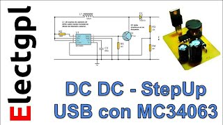 Construir una fuente  elevadora USB con MC34063 de 5V a 12V