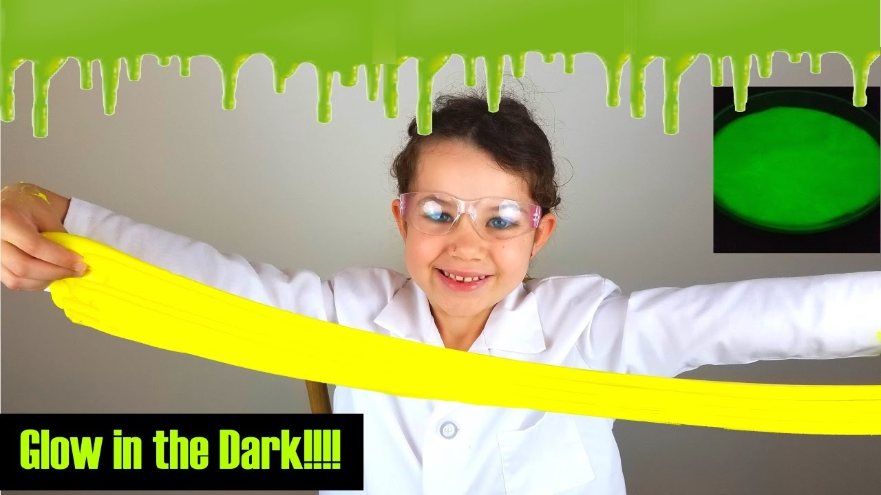 glow in the dark science projects