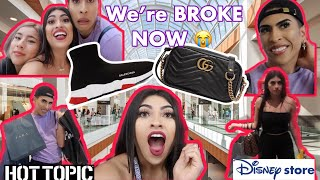 Download Buying Eachother EVERYTHING WE TOUCH BLINDFOLDED CHALLENGE! Mp3 and Videos