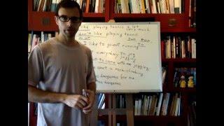 Curso de inglés 161: Clase practica ingles (2/2)