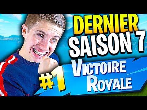 MON DERNIER TOP 1 AVANT LA SAISON 7 SUR FORTNITE BATTLE ROYALE !!!