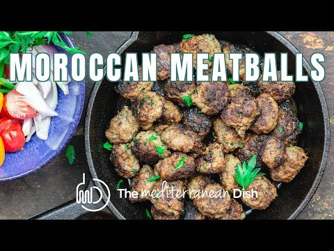 These are the Best Moroccan Meatballs! | The Mediterranean Dish