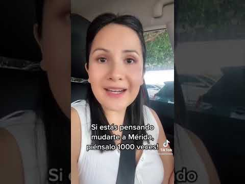 Boliviana pide que se lo piensen antes de mudarse a Mérida