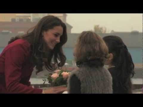 Duke and Duchess of Cambridge in UNICEF visit to Denmark aid center
