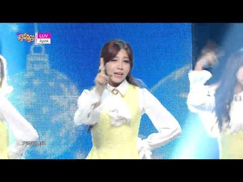 [HOT] Apink - LUV, 에이핑크 - 러브, Show Music core 20141206