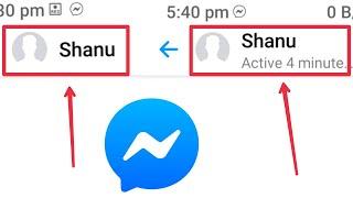 (Active Status Problem) Person Not Hide Last Seen But Last Seen Not Show Problem Solve in Messenger