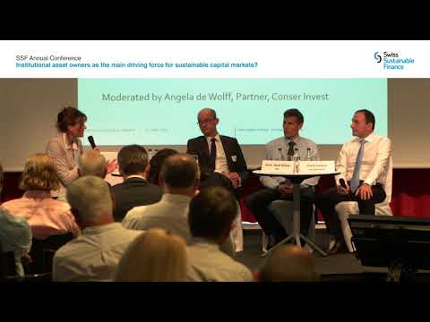 Panel Discussion: Institutional asset owners as driving force for sustainable capital markets?