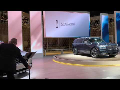 LINCOLN AVIATOR 2020 at LOS ANGELES AUTO SHOW