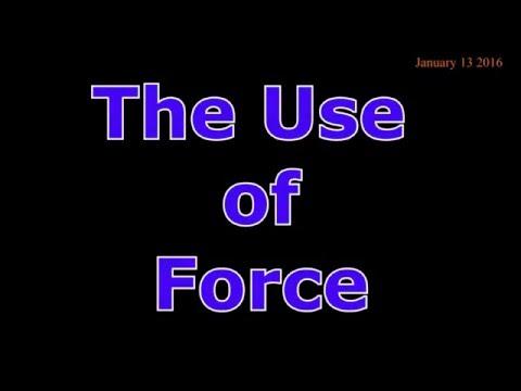 Portland Police: Use Of Force Training 1.13.16 Training Advisory Council