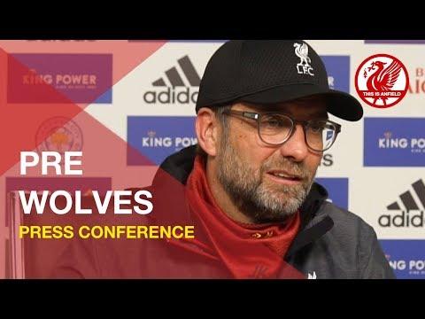Liverpool vs. Wolves | Jurgen Klopp Press Conference