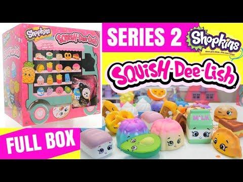Rise Squishies Lish Squish Squishy Blind Full Series Bags 2 Shopkins BoxSlow Dee rtCshdQ