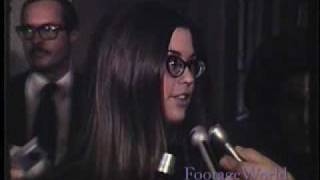 Manson Trial - Rare Behind-the-Scenes Interview