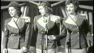Watch Andrews Sisters Here Comes The Navy video