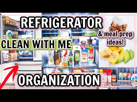 EASY REFRIGERATOR ORGANIZATION! COOK AND CLEAN WITH ME!   Alexandra Beuter