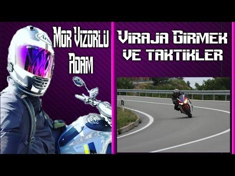 Motosiklette Viraja Nasıl Girilir / MVA Anlatıyor