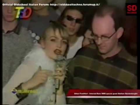 Omen Frankfurt Internet Rave 1995 special DJ guest Stefaan Vandenberghe