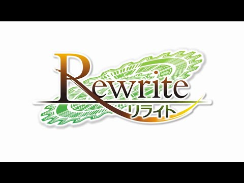 Rewrite Visual Novel OP x Philosophyz ~TV animation ver ~ (Game size)