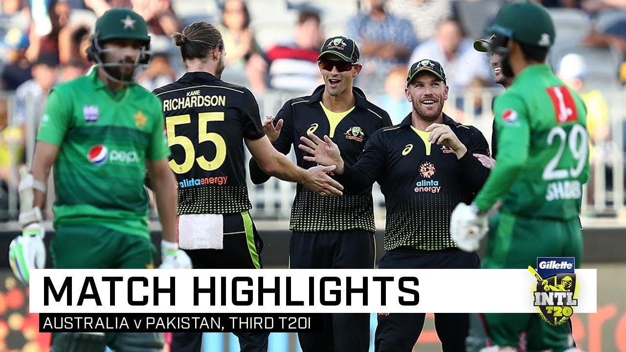 Download Australia thump Pakistan for a 10-wicket trouncing | Third Gillette T20I