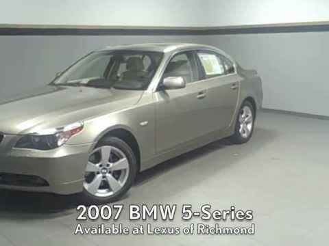 BMW Series Xi Available At Lexus Of Richmond YouTube - 2007 bmw 535xi