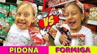 Criança Pidona vs Criança Formiga no Supermercado - MC Divertida