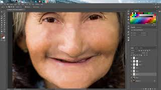 Biến già thành trẻ trong Photoshop