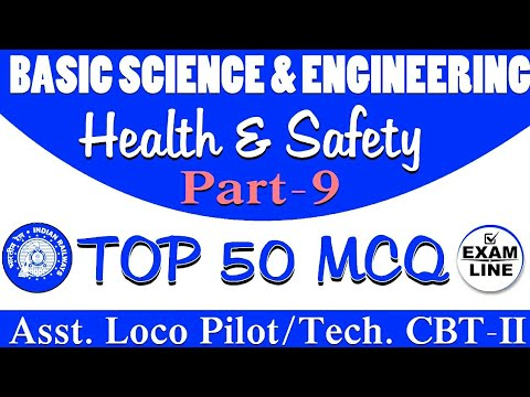 Occupational Safety & Health Top 50 MCQ(Alp/Tech Cbt 2