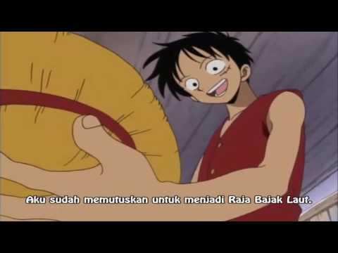 kata-kata bijak pertama yang di ucapkan oleh Luffy, bikin orang mrinding