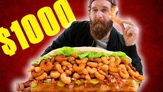 500 JUMBO SHRIMP SANDWICH
