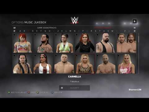 WWE 2K17 MUSIC JUKEBOX   OFFICIAL SOUNDTRACKS