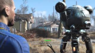 Fallout 4 PS4 - Returning Home + Codsworth Dialogue