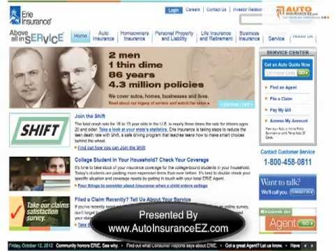 Erie Insurance Company Review - Ratings, Quotes, Discounts