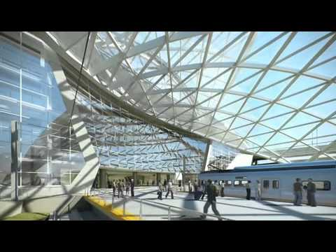 Hotel and Transit Center: Animation