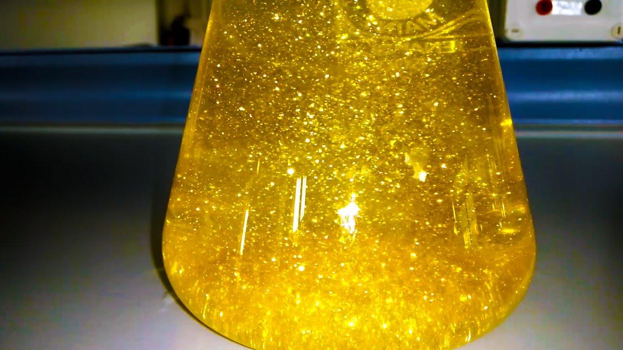 Как опредилить йодид золота