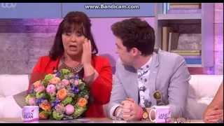 Jake Roche from Rixton surprises his Mum, Coleen Nolan, on Loose Women