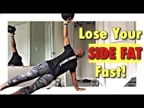 how-to-lose-side-fat-fast-|-belly-fat-workout!