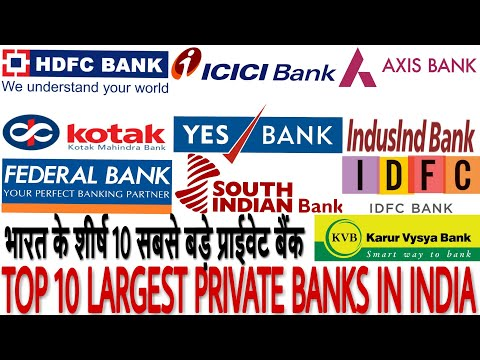 Top 10 Largest Private Banks in India with their  facts 2019