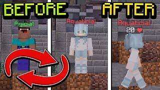 DEATH SWAP in SKYWARS! (Minecraft Death Swap)
