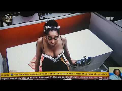 Big Brother naija - TBoss says she's an oyibo, Nigerians ask,what's she doing in BBN  day 45