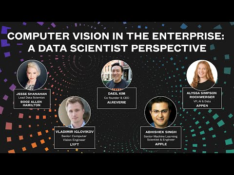 Computer Vision in the Enterprise: A Data Scientist Perspective