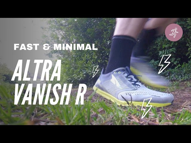 Altra Vanish R Review - Fast Minimal Running Shoe