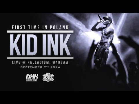 Kid Ink Live @ Palladium Club in Warsaw, Poland (Warszawa, Polska) My Own Lane European Tour