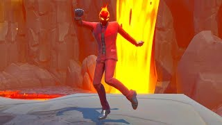 Fortnite Dream Feet Dance Emote Goes With Everything..! (Inferno Skin)