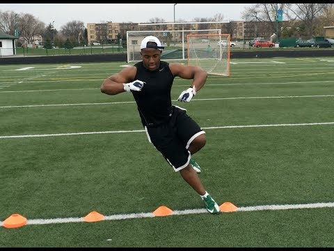 """How To Run Faster"" - Speed And Agility Drills For Football Players"