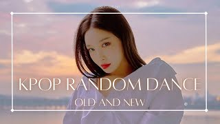 [MIRRORED] KPOP RANDOM DANCE CHALLENGE - OLD AND NEW EDITION