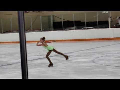 6/2018- SamiGrace PreJuvenile FreeSkate At Broadmoor Open