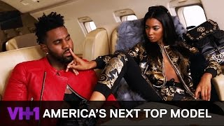 Jason Derulo Posing the High Life w/ India and Tatiana  | America's Next