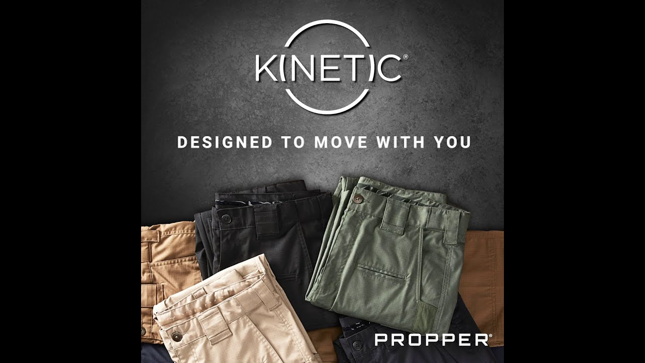 Kinetic® Stretch Tactical Pant Features