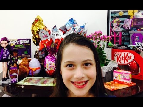 Presentes que ganhei na Páscoa/2014 Julia Silva