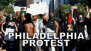 Philadelphia protest against police brutality