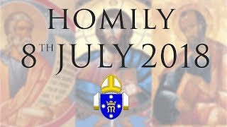 Homily 8th July 2018 The Personal Ordinariate of Our Lady of the Southern Cross